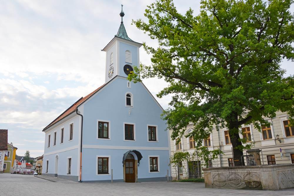 Altes Rathaus Groß Gerungs, Foto C. Fuchs/Stadtgemeinde